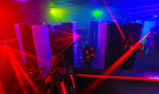 лазерный пейнтбол для детей в москве