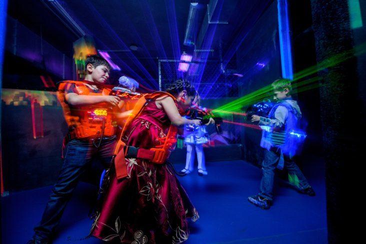 лазертаг – лучшее развлечение для детей